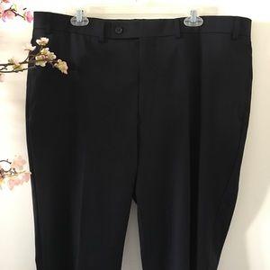 Calvin Klein Mabry Navy Wool Dress Pants 39W